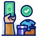 cash, commerce, ecommerce, payment, shop, shopping icon