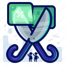 commerce, cut, ecommerce, price, shop, shopping icon