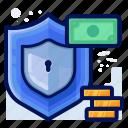 commerce, ecommerce, money, protection, shop, shopping icon