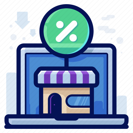 commerce, ecommerce, online, shop, shopping, store icon