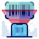 commerce, ecommerce, qr, scanner, shop, shopping icon