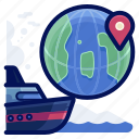 commerce, delivery, ecommerce, ship, shop, shopping icon