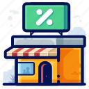 commerce, ecommerce, shop, shopping, store icon