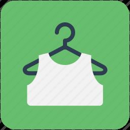 blouse, cloth hanger, dress hanger, vest, waistcoat icon