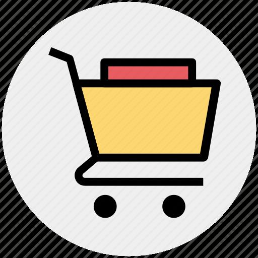 basket, cart, ecommerce, items, shopping, shopping cart icon
