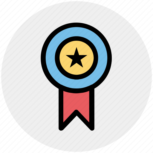 award, award badge, label, ribbon, star, winner icon