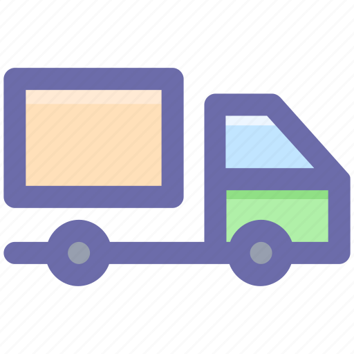 delivery, lorry, shipping, transportation, truck icon