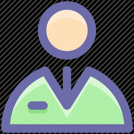 businessman, employee, people, profile, user icon