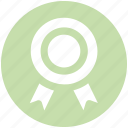 award, award badge, badge, label, ribbon, winner icon