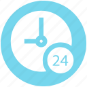 clock, hours, service, time, watch icon