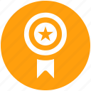 award, award badge, label, ribbon, star, winner icon