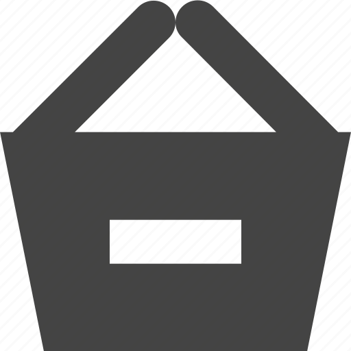 basket, checkout, ecommerce, remove, shopping icon