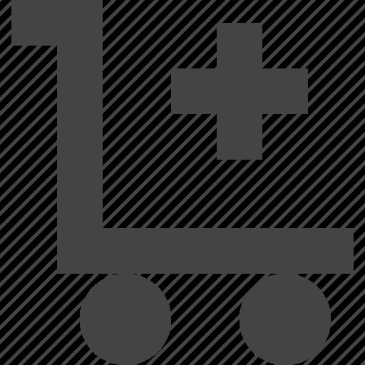 add, cart, checkout, shopping icon