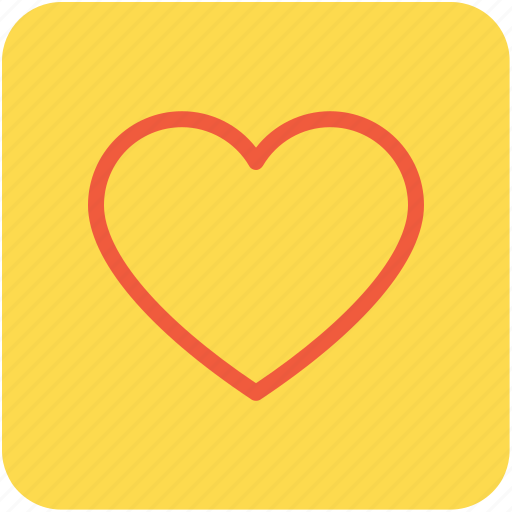 favorite, heart, heart shape, love, romantic icon