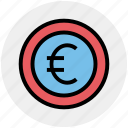coin, currency, euro, finance, money