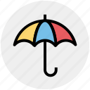 forecast, insurance, rain, safe, umbrella, weather icon