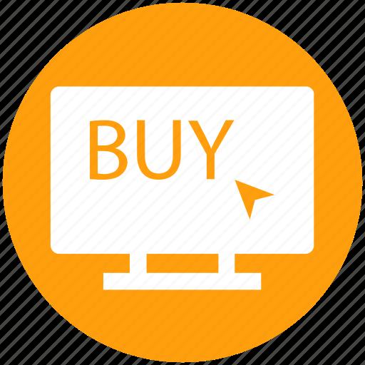 arrow, buy arrow, click, lcd, lcd screen, sale icon