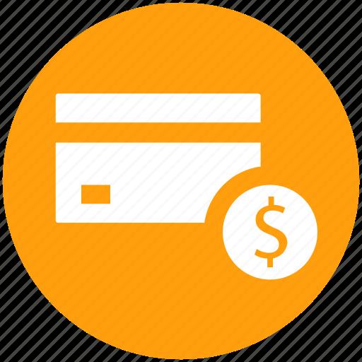 atm card, card, credit, credit card, debit card, dollar icon