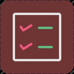 checklist, list, memo, shopping list icon