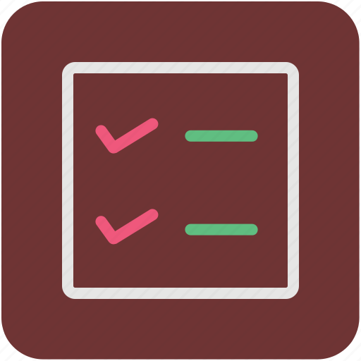 Checklist, list, memo, shopping list icon - Download on Iconfinder