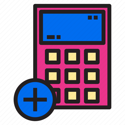 add, calculator, ecommerce, internet, online, payment, shopping icon