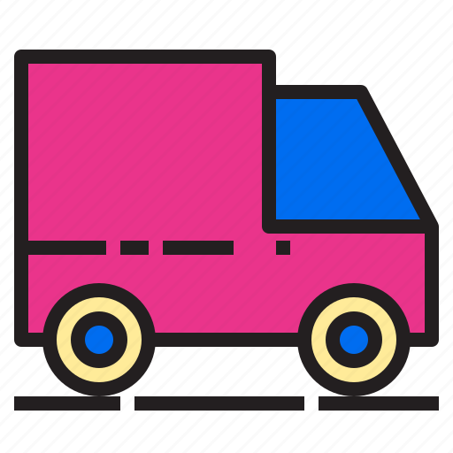 car, delivery, ecommerce, internet, online, payment, shopping icon