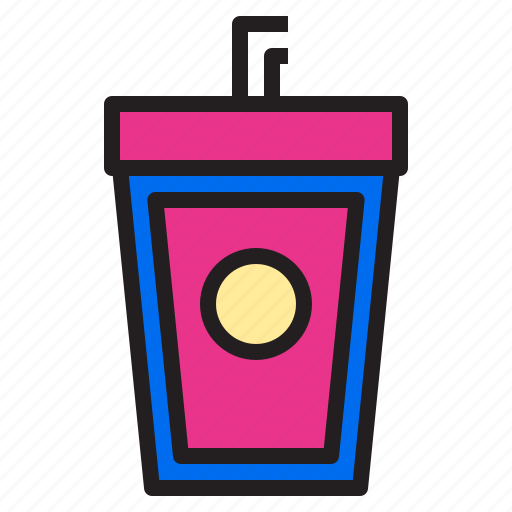 drink, ecommerce, internet, online, payment, shopping icon