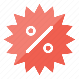 %, badge, cheap, commerce, coupon, deal, discount, label, marketing, offer, percent, promotion, retail, sale, sales, special, sticker, store icon