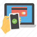 card payment, desktop payment, mobile payment, online payment, secure payment icon