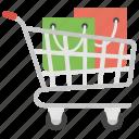 grocery cart cart, shopping, shopping bucket, shopping cart icon
