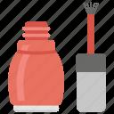 base coat, nail coating, nail enamel, nail paint, nail polish icon