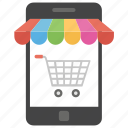 e commerce, m commerce, mobile shopping, online buying, online shopping