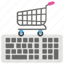 ecommerce, online cart, online shop, online shopping, shopping cart icon