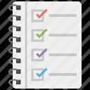checklist, items list, todo list, wish list icon