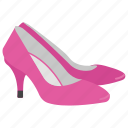 high heels, ladies apparel, ladies shoes, pumps, shoes icon