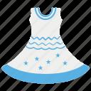 female dress, frock, ladies clothes, ladies shirt, women dress icon