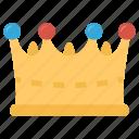 crown, female fashion, gold crown, headwear, princess crown icon