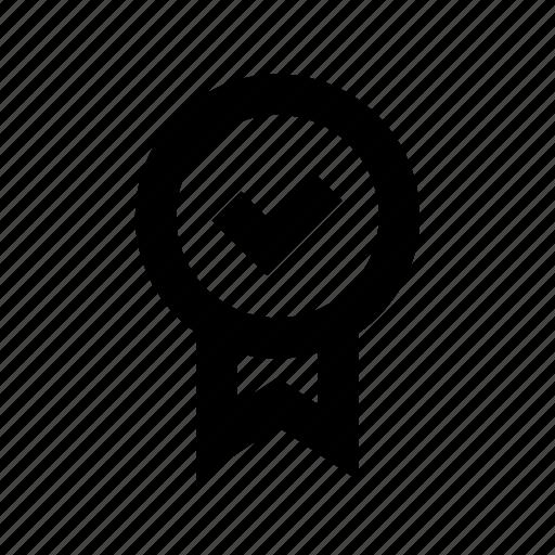 badge, checkmark, premium badge, promotion, quality badge icon