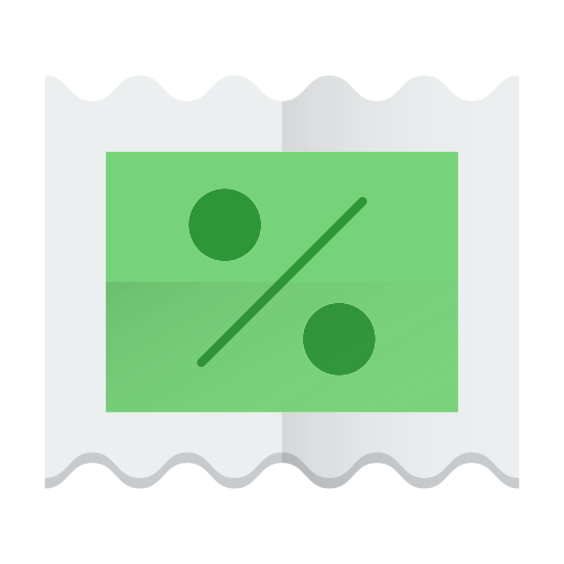 coupon, discount, sale, ticket icon