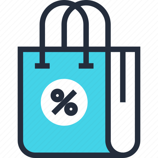 bag, buy, commerce, discount, package, retail, shopping icon