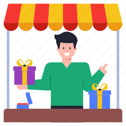 vendor, gifts shop, gift store, gifts outlet, shop
