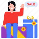 shopping discount, shopping sale, purchase, gifts, parcels