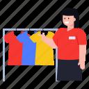 clothes rack, shirts rack, shopping rack, shirts hangers, shop rack