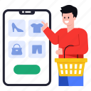 shopping app, online shopping, online products, mobile shopping, mcommerce