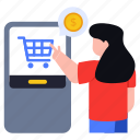 mobile payment, digital payment, online payment, shopping payment, \payment of purchase