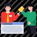 card payment, payment counter, credit card, digital payment, cash counter