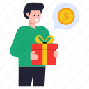 business chat, payment chat, financial chat, gift chat, shopping message