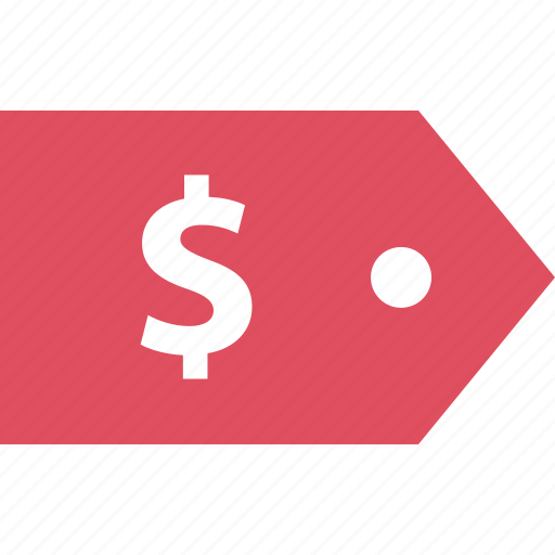 dollar, online, sales, shop, sign, tag icon
