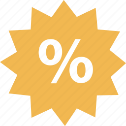 online, percent, sales, shop, tag icon