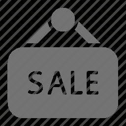 retail, sale, shopping, sign icon